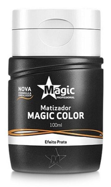 Matizador Magic Color Platinum Blond - Efeito Prata 100ml