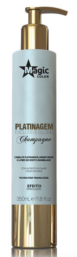 Magic Color Platinagem Exclusive Blond Champagne - Perolado 350ml