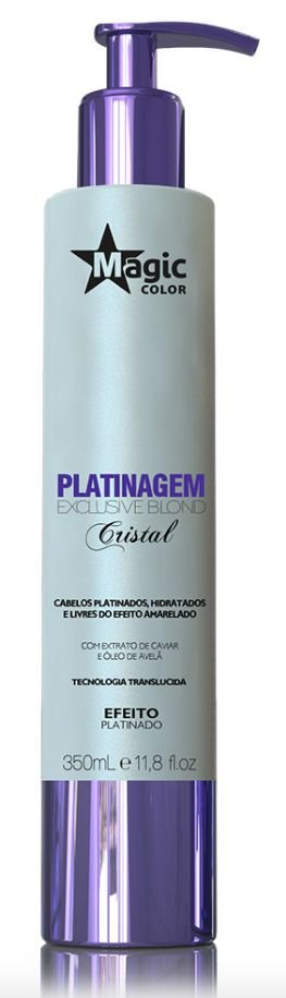 Magic Color Platinagem Exclusive Blond Cristal - Platinado 350ml