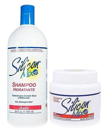 Silicon Mix Avanti Kit Shampoo 1 Litro + Mascara 1 kilo