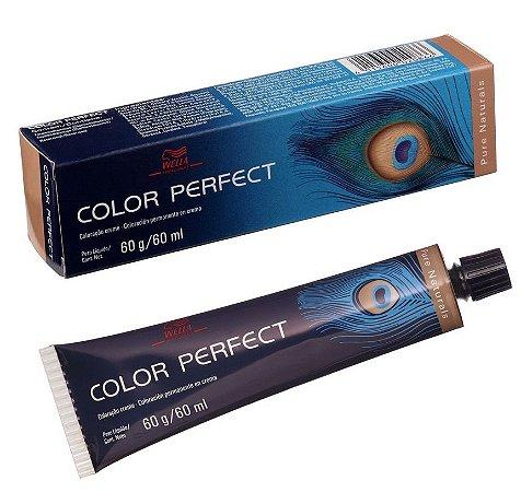 Tintura Wella Color Perfect 3/0 Castanho Escuro - 60g