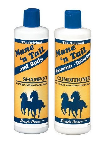 Mane n Tail 1 Litro Shampoo e Condic Grande - Kit 2 x 946ml