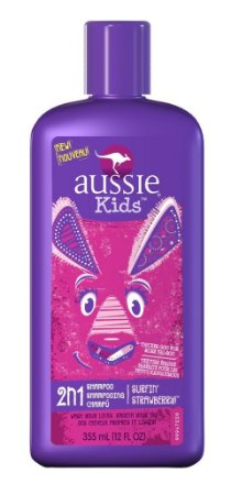Aussie Kids Shampoo 2 em 1 Surfin Strawberry (morango)