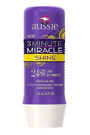 Aussie 3 Minute Shine Miracle Mascara p/ Brilho - 236ml