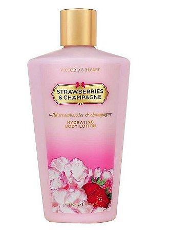 Victorias Secret Hidratante Strawberries Champagne - 250ml