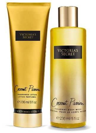 Victorias Secret Kit Hidratante + Splash Coconut Passion