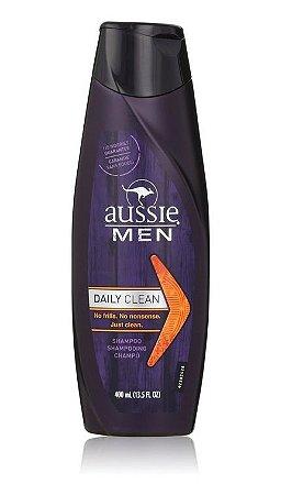 Aussie Men Shampoo Daily Clean - 400ml