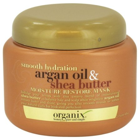 Organix Mascara Hidratação Argan Oil & Shea Butter - 237ml