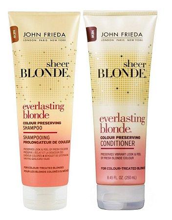 John Frieda Sheer Blonde Shampoo e Condicionador Everlasting Colour - Kit