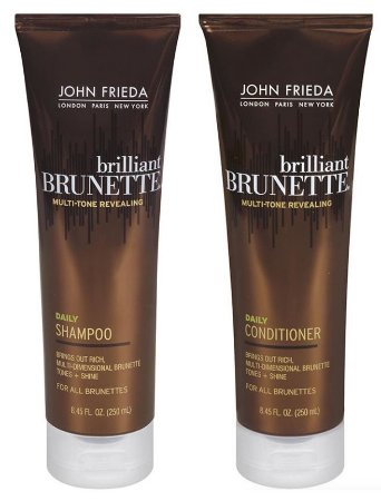 John Frieda Brunette Shampoo e Condic Multi Tone Revealing Daily - Kit