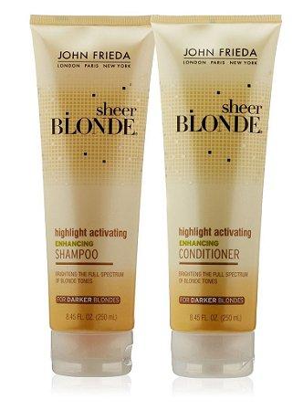 John Frieda Sheer Blonde Highlight For Darker - Kit 2x250ml