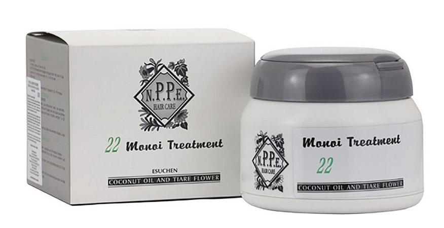 Nppe Monoi Herbal 22 Treatment - Mascara Anti Quebra 300ml