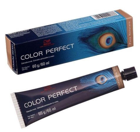 Tintura Wella Color Perfect 2/0 Preto - 60g