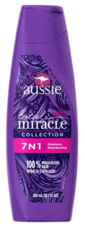 Aussie 7 em 1 Shampoo Total Miracle Collection - 360ml