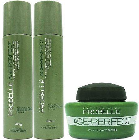 Probelle Age Perfect Kit p/ Finos e Fragilizados (3pc)