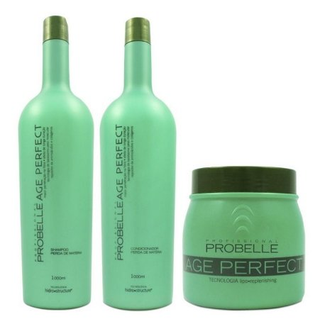 Probelle Age Perfect Kit Repositor Profissional Litro - 3 Itens