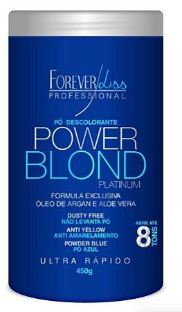 Forever Liss Pó Descolorante Power Blond 450g (+brinde)
