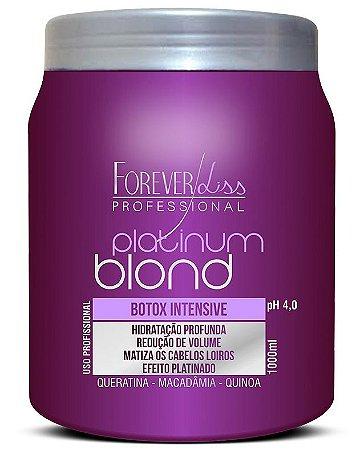 Forever Liss B.tox Matizador 1kg Platinum Blond Intensive (+ Brinde)