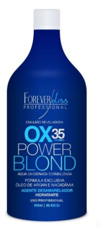 Forever Liss Power Blond Agua Oxigenada Matizadora OX 35 - 900ml