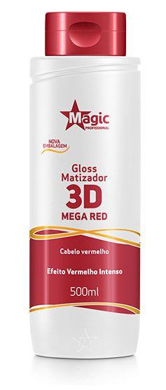 Magic 3D Mega Red Matizador - Efeito Vermelho Intenso