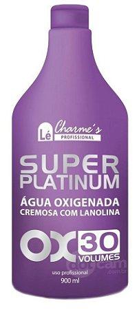 Lé Charmes Água Oxigenada Super Platinum 30 Volumes - 900ml