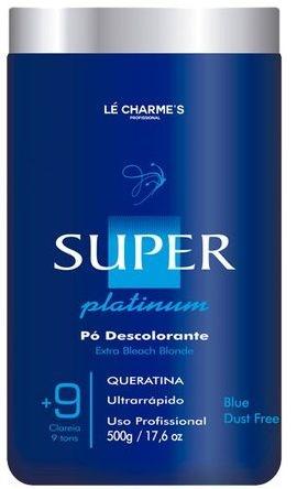 Le Charmes Pó Descolorante Super Platinum Abre 9 Tons - 500g