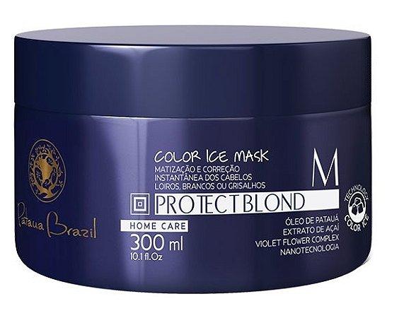 Patauá Brazil Protect Blond Color Ice Mask - Máscara Matizadora 300ml