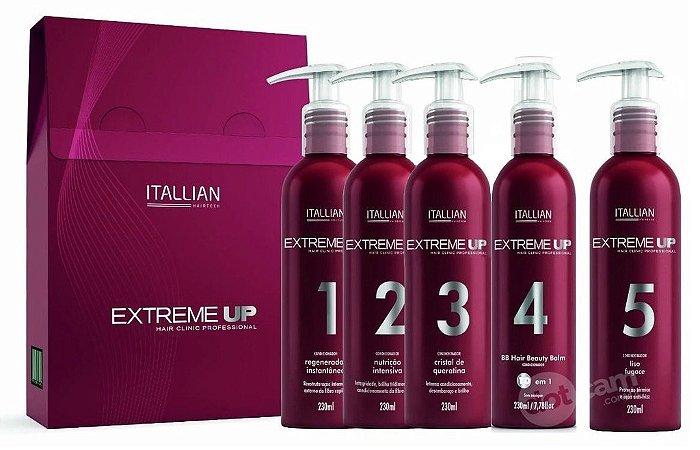 Itallian Extreme Up Hair Clinic SOS Reconstrução Pro (5pc)