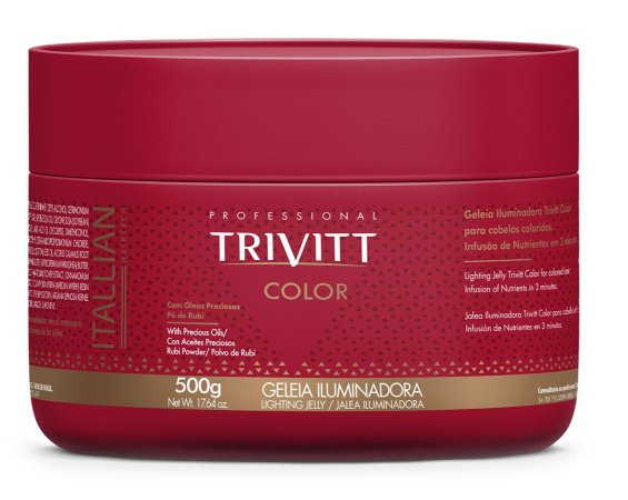 Itallian Trivitt Color Geléia Iluminadora 500g (+brinde)