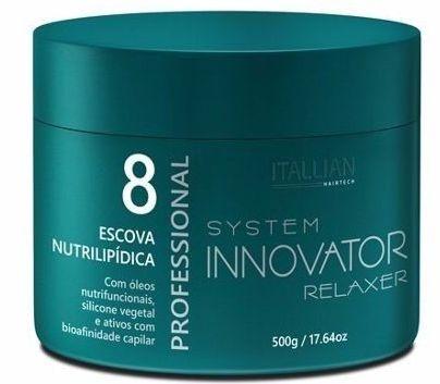 Escova Progressiva Itallian Nutrilipidica Innovator Sericina - 500g