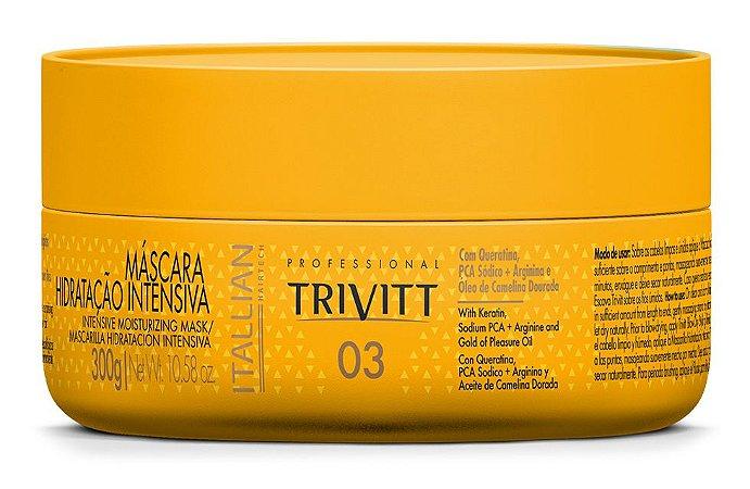 Itallian Trivitt 03 Máscara Hidratação Intensiva 300g