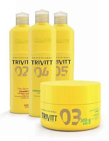 Itallian Trivitt Kit Pós Química Completo (4 produtos)