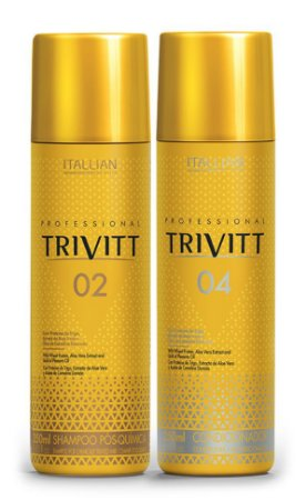 Itallian Trivitt Shampoo Sem Sal + Condicionador (2x 250ml)