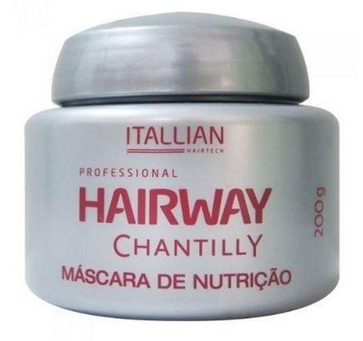 Itallian Hairway Chantilly Máscara De Nutrição 200g (+ Brinde)
