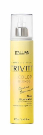 Itallian Trivitt Fluido Biomimetico Queratina Color Blonde 250ml
