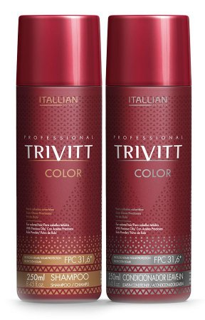 Itallian Trivitt Color Kit Duo Cabelos Coloridos (2x 250ml) +brinde