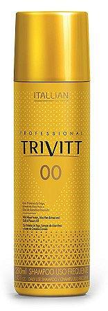Itallian Trivitt 00 Shampoo sem Sal Uso Frequente - 250ml
