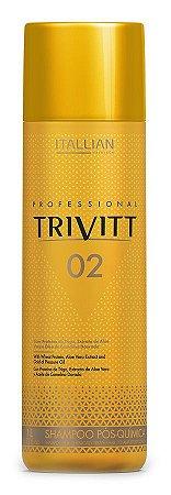 Itallian Hair Tech Trivitt 02 Shampoo Pós Química 1 Litro
