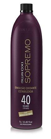 Itallian Oxi Sopremo Emulsão Oxidante 40 Volumes - 1Litro