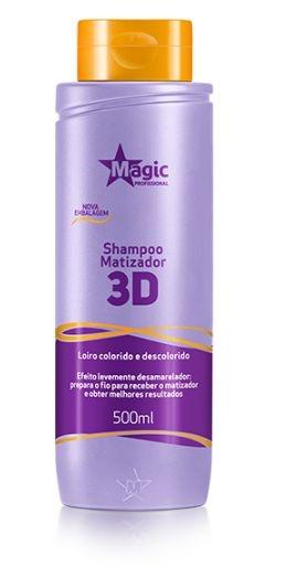 Magic Color Shampoo Matizador 3D - 500ml