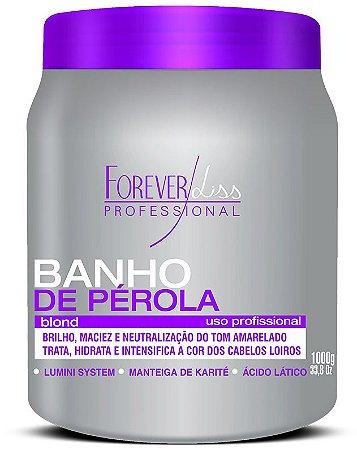 Forever Liss Banho de Perola Blond p/ Loiras - 1 Kilo (+ Brinde)