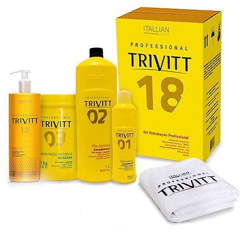 Itallian Trivitt 18 Hidratação + Cauterização Gloss Hidra Cauter N13