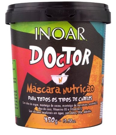 Inoar Doctor Máscara Nutrição 450g (+ Brinde)
