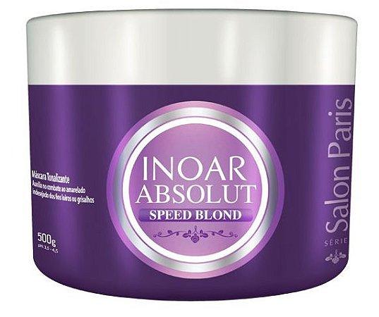 Inoar Absolut Speed Blond Máscara Tonalizante 500g (+ Brinde)