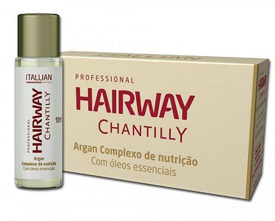 Itallian Hairway Chantilly Ampola Complexo Nutrição (12 Unidades)