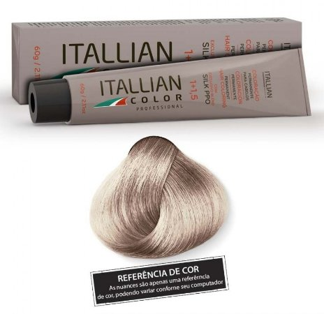 Itallian Color N. 102s Louro Clarissimo Frio Intenso
