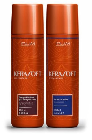 Itallian Kerasoft Kit Manutenção Pós Progressiva 2x250ml