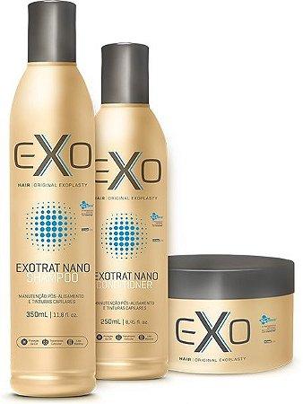Exo Hair Kit Manutenção ExoTrat Nano (3 Itens)