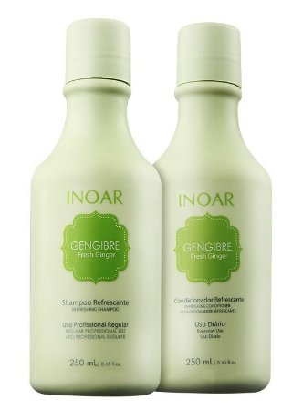 Inoar Gengibre Fresh Ginger Duo Kit (2 x 250ml + Brinde)