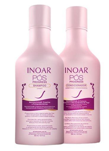 Inoar Pós Progress Kit Duo Manutenção (2 x 250ml + Brinde)